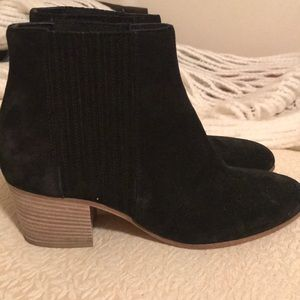 VINCE| Vero Cuoio Ankle Boots